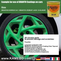 BRANTHO-KORRUX 3in1 Rostschutzlack RAL 6010 / 0610 Naturgrün 750 ml