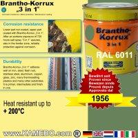 BRANTHO-KORRUX 3in1 Rostschutzlack RAL 6011 Resedagrün 750 ml