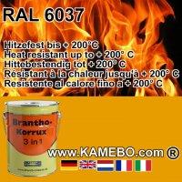 BRANTHO-KORRUX 3in1 Rostschutzlack RAL 6037 Tonnengrün 5 Liter