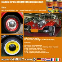 BRANTHO-KORRUX 3in1 Rostschutzlack RAL 2000 Gelborange 750 ml