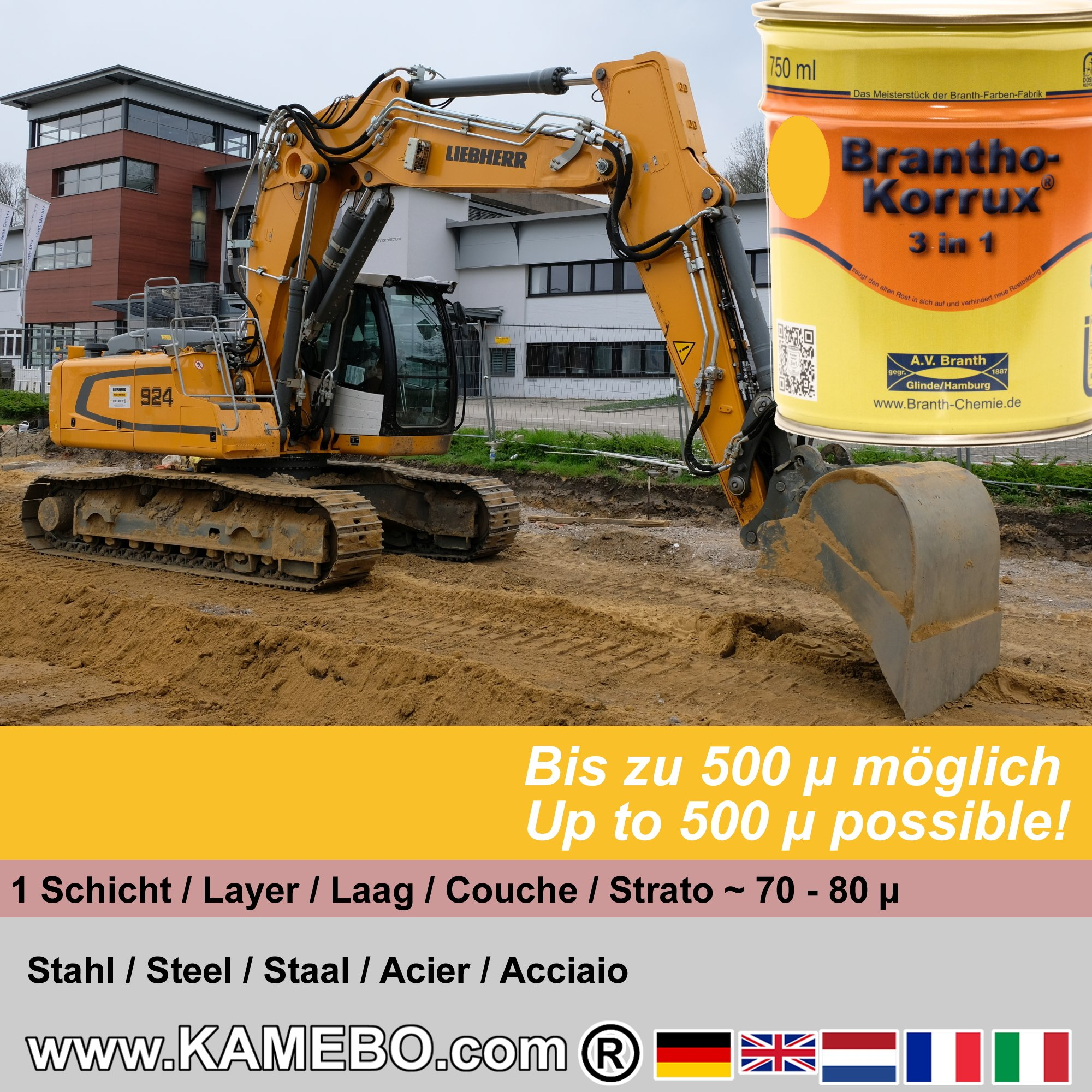 Paint for Liebherr Building Machines - KAMEBO®