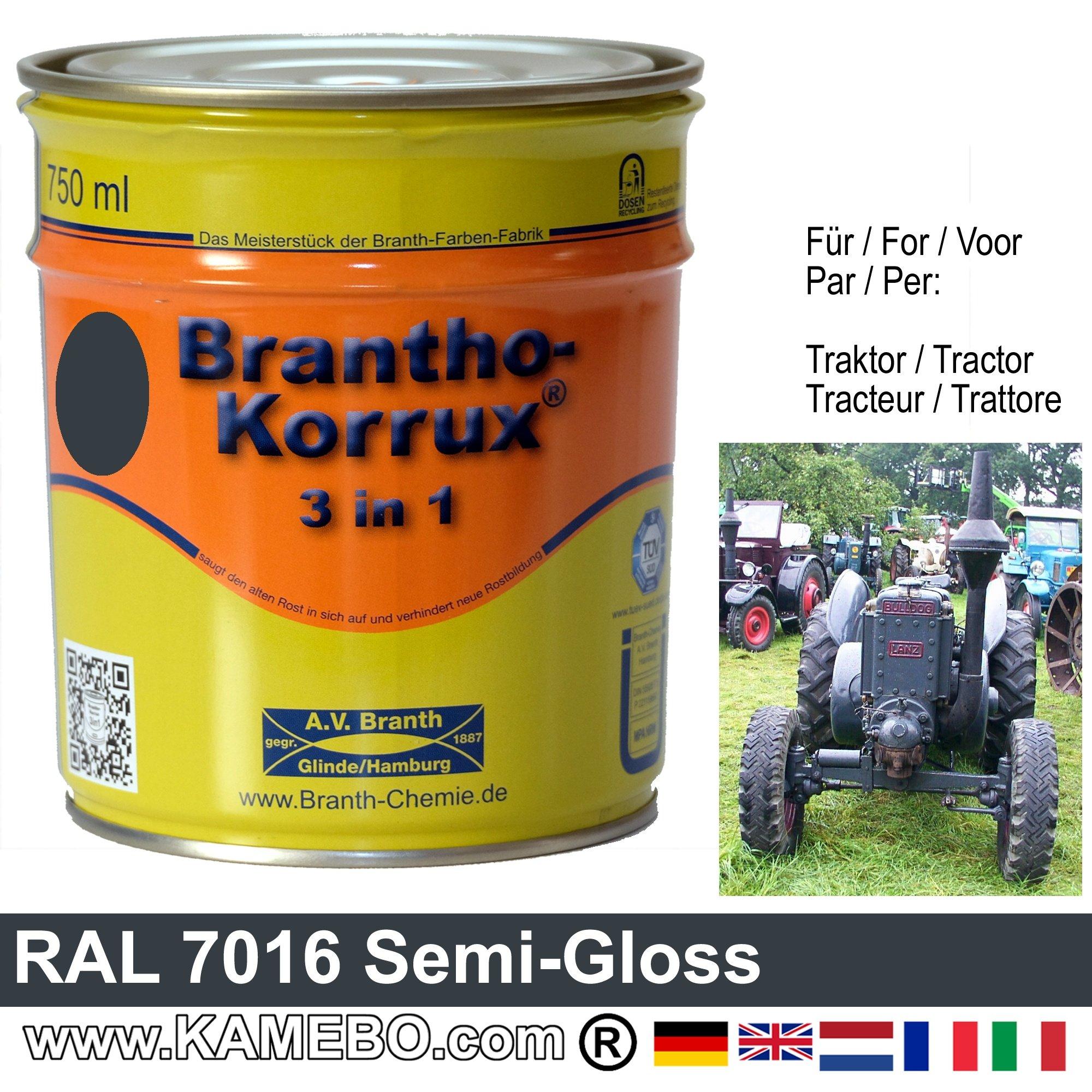3in1 traktor lack seidengl nzend ral 7016 anthrazitgrau 750 ml. Black Bedroom Furniture Sets. Home Design Ideas