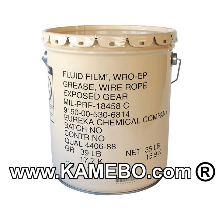 FLUID FILM WRO-EP Wire Rope Grease / Lubricant 17,6 Litre - KAMEBO®
