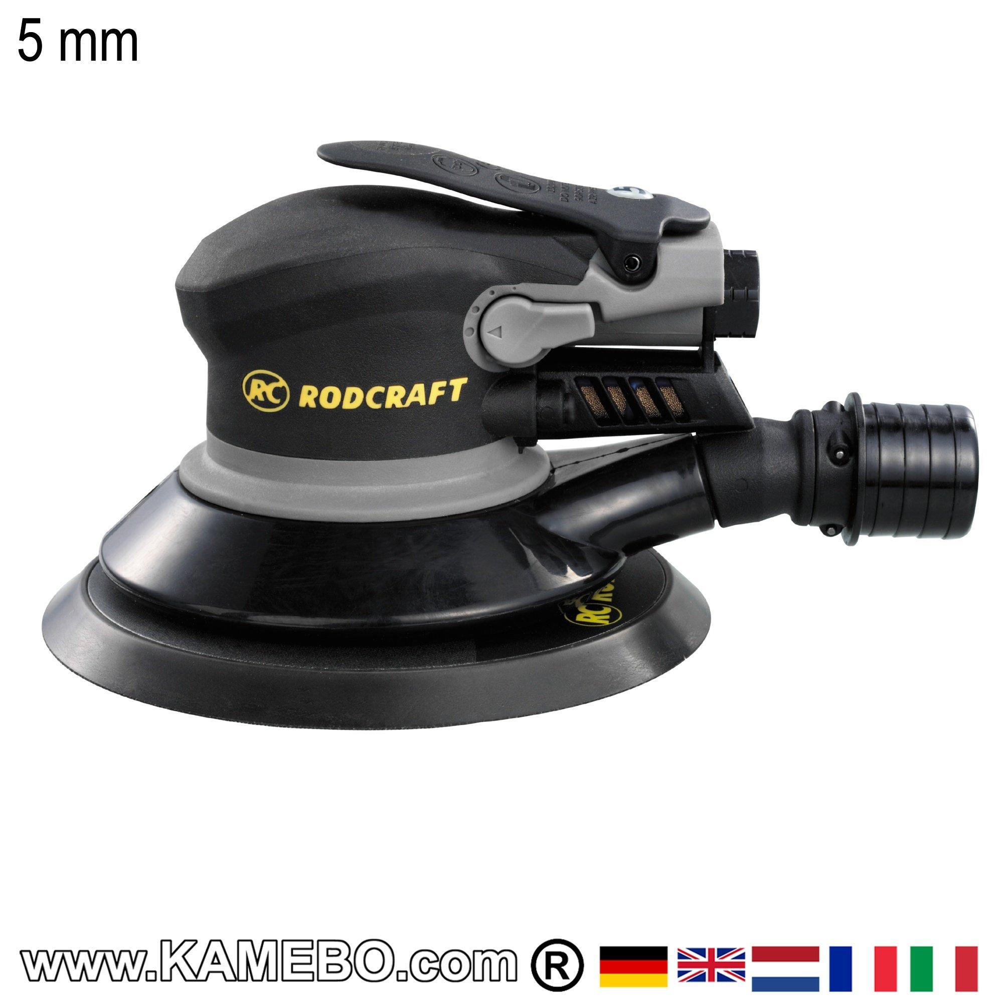 rodcraft ponceuse orbitale pneumatique rc7705v6. Black Bedroom Furniture Sets. Home Design Ideas