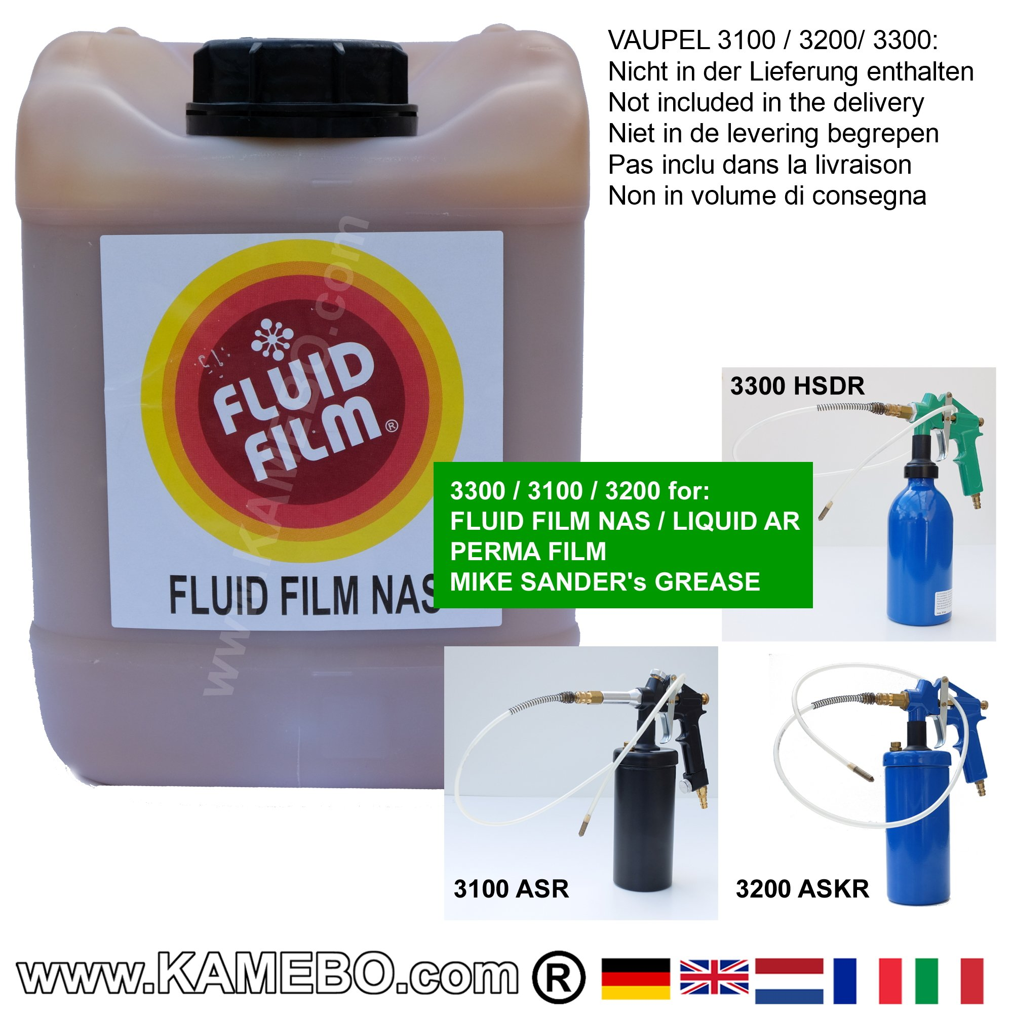 fluid film nas antirust oil 5 litres. Black Bedroom Furniture Sets. Home Design Ideas