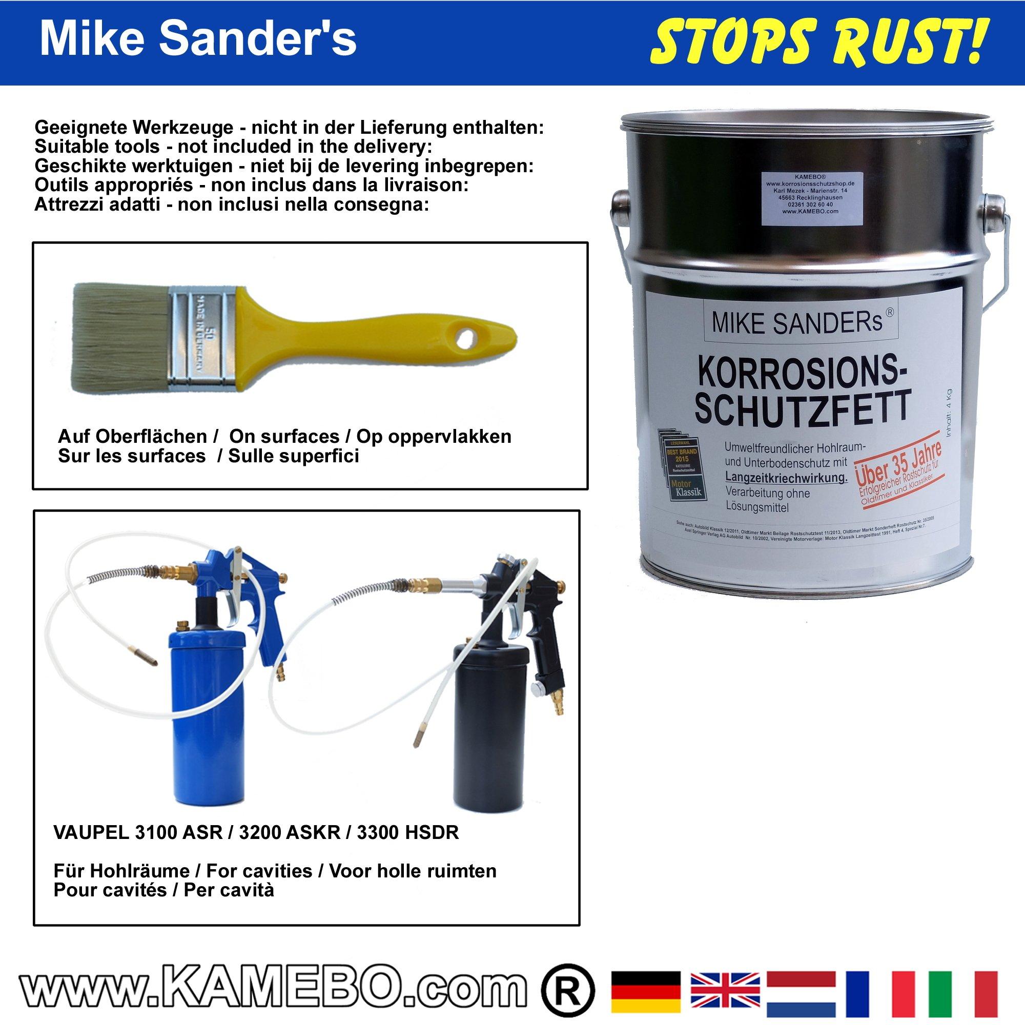 mike sanders korrosionsschutzfett 4 kg eimer kamebo. Black Bedroom Furniture Sets. Home Design Ideas