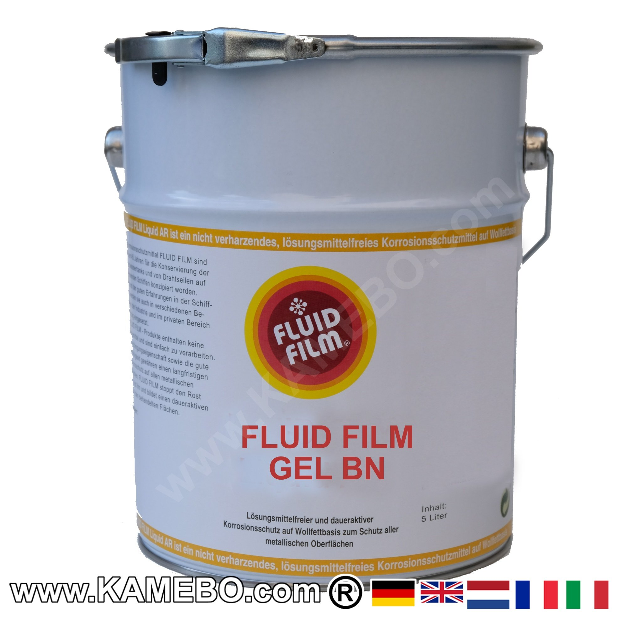 fluid film gel bn antirust grease 20 litres kamebo. Black Bedroom Furniture Sets. Home Design Ideas