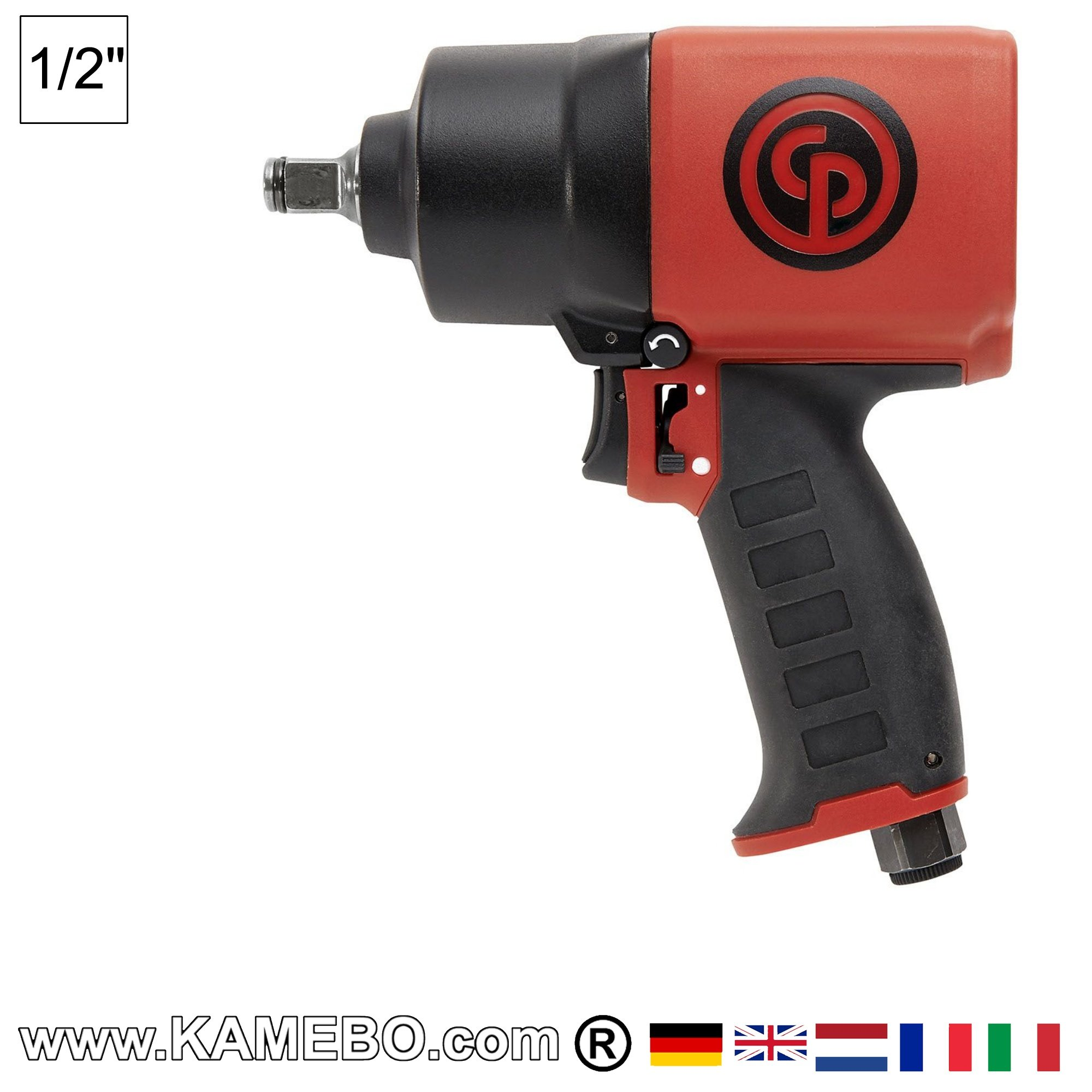 CP7749-2 Air Impact Wrench 1//2 in 9000 RPM Chicago Pneumatic Dr