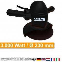 AirApp Druckluft Winkelschleifer Vertikalschleifer SW9