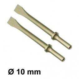 CHICAGO PNEUMATIC Flachmeißel Ø 10,2 mm 2 Stück