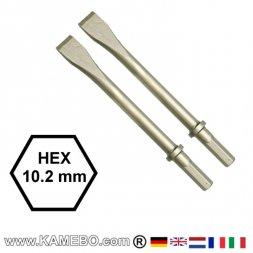 CHICAGO PNEUMATIC Flachmeißel HEX 10,2 mm 2 Stück