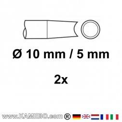 CHICAGO PNEUMATIC Nietmeißel Ø 10,2 mm / 5 mm 2 Stück