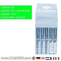RODCRAFT Sägeblätter für Aluminium 605224 5 Stück