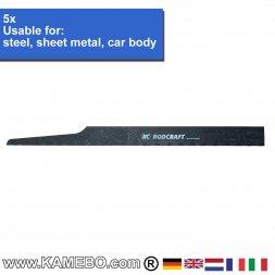 RODCRAFT Sägeblätter für Stahl SB32L 5 Stück