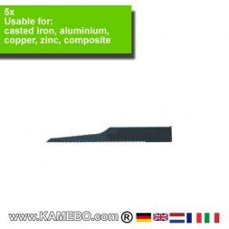 AirApp Sägeblätter für Aluminium ZB-24 5 Stück