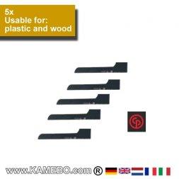 CHICAGO PNEUMATIC Sägeblätter für Kunststoff und Holz 18/CP7901K 5 Stück