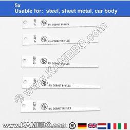 CHICAGO PNEUMATIC Sägeblätter für Stahl 32/CP7900 5 Stück