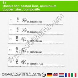 CHICAGO PNEUMATIC Sägeblätter für Aluminium 24/CP7900 5 Stück