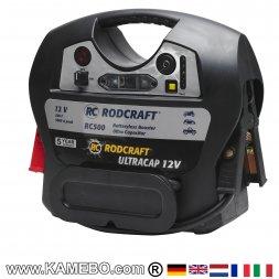 RODCRAFT Batterieladegerät / Starthilfe Booster RC500 12V
