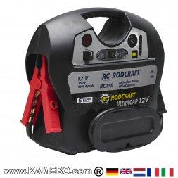 RODCRAFT Batterieladegerät / Starthilfe Booster RC250 12V