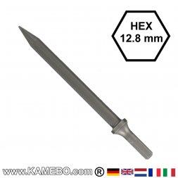 GISON Spitzmeißel / Spitzeisen HEX 12,8 mm