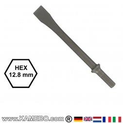 GISON Flachmeißel HEX 12,8 mm
