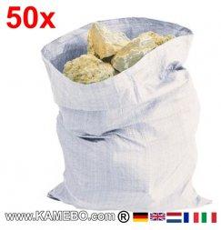Schüttsäcke Steinesäcke 900 x 600 mm 50 Stück