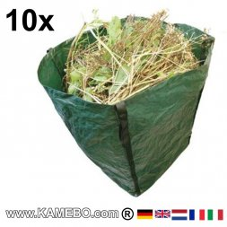 Big Garden Sack Heavy Duty 360 Litres 10 pieces