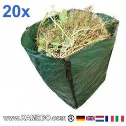 Großer Gartensack 360 Liter 20 Stück