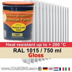 Heizkörperlack Glänzend RAL 1015 Hellelfenbein 750 ml