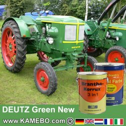 Rostschutzfarbe Deutz Traktorlack Grün Neu / Hellgrün