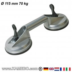 Saugheber Ø 115 mm 100 kg