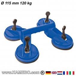 Saugheber Ø 115 mm 120 kg