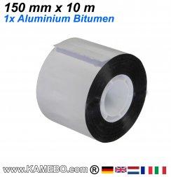 Aluminium Bitumen Reparaturband 150 mm x 10 1 Stück