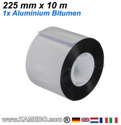 Aluminium Bitumen Reparaturband 225 mm x 10 m 1 Stück