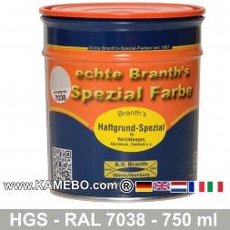 BRANTH's Haftgrund Spezial HGS RAL 7038 Achatgrau 750 ml
