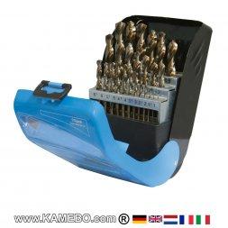 Kobaltbohrer 1 - 13 mm Kit 25 Teile