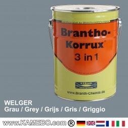 Landmaschinenlack Rostschutzfarbe Welger Grau
