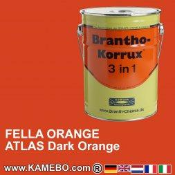 Rostschutzfarbe Fella Rotorange / Atlas Orange dunkel ab 11/2002