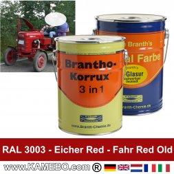 Eicher Traktorlack Rot / Fahr Landmaschinen Rot alt