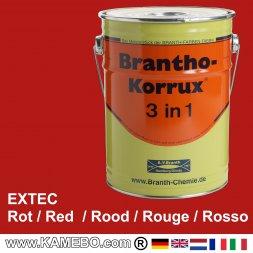 Rostschutzfarbe Extec Baumaschinenlack Rot