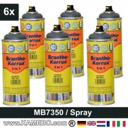 BRANTHO-KORRUX 3in1 Rostschutzlack Mercedes-Benz Chassis MB7350 Novagrau Spray 6 Stück
