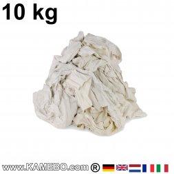 Putzlappen BW Trikot Weiß 10 kg