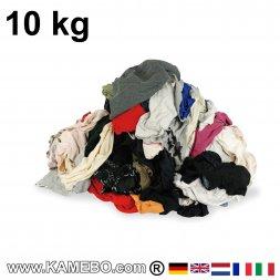 Putzlappen BW Trikot Bunt 10 kg