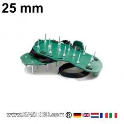 Nagelsohle / Nagelschuh mit 25 mm Nägeln