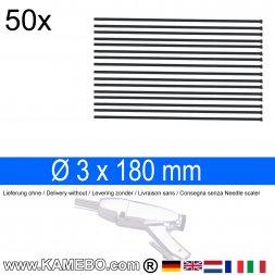 Nadeln für Nadelentroster 3x180 mm 50 Stück