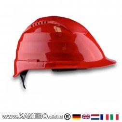 Schutzhelm Rot