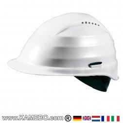 Schutzhelm Weiß