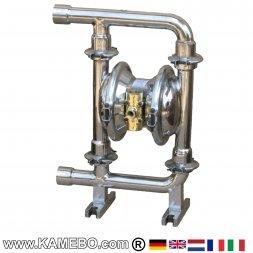 DP 25 SST Druckluft Doppelmembranpumpe