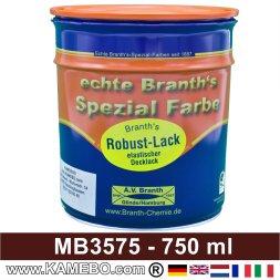 BRANTH's ROBUST LACK Metallschutzlack MB / DB 3575 Ochsenblut 750 ml